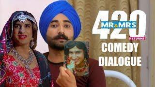 Mr & Mrs 420 Returns| Full Movie Funny Scenes| Comedy Movie| Jassie Gill, Ranjit Bawa