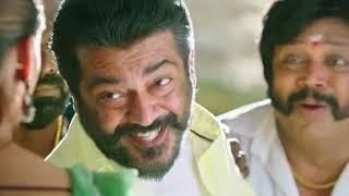 Viswasam Thala Ajith and Nayanthara Romantic Comedy scene HD Video????.