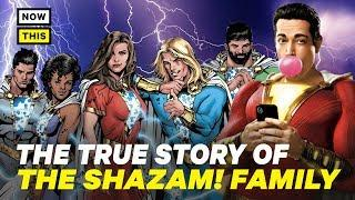 Shazam Family: The True Story   NowThis Nerd