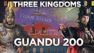Battle of Guandu 200 - Three Kingdoms DOCUMENTARY