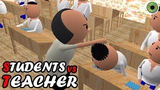 COMEDY TADKA - CRAZY STUDENTS vs TEACHER - MAKE JOKES - TEACHER VS STUDENT JOKES - MJO