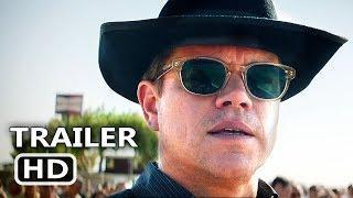 FORD v FERRARI Official Trailer (2019) Matt Damon, Christian Bale Movie HD