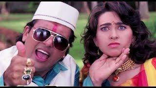 Shikari - Govinda | Karishma Kapoor | Comedy | Bollywood Movie HD