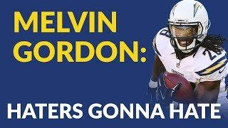 Melvin Gordon Still Gets Fantasy Football Hate, And All He Does Is Win Your League 2018
