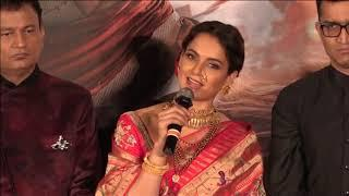 Bollywood's Kangana Ranaut launches trailer of historical drama 'Manikarnika' in Mumbai