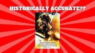 Historical Inaccuracies of Black Hawk Down