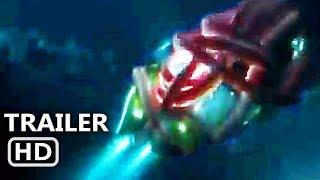 "THE MEG ""Megalodon Vs Giant Squid"" Trailer (NEW 2018) Jason Statham, Shark Movie HD"