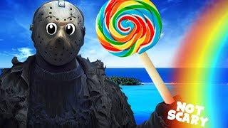 How to make Friday the 13th (Jason Voorhees) Not Scary!
