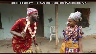 Chief Imo Comedy || the real Ada kirikiri || oiginal igbo || special birthday shout