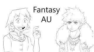Fantasy AU (My Hero Academia Comic Dub)