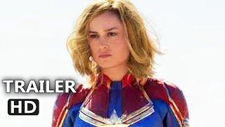 CAPTAIN MARVEL Official Trailer (2019) Superhero Movie HD