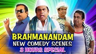 Brahmanandam New Comedy Scenes 3 Hours Special   South Indian Hindi Dubbed Best Comedy Scenes