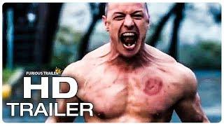 GLASS Official Trailer (NEW 2019) James McAvoy Superhero Movie HD