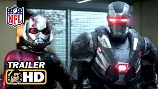 AVENGERS: ENDGAME Super Bowl TV Spot Trailer (2019) Marvel Superhero Movie HD