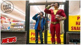 Shazam! reveals Zachary Levi's costume in first official photo!!!! (Director's take on the costume)