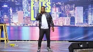 HENRY TIGAN SPREADS LOVE BEFORE A LIVE AUDIENCE, COMEDY FILES UGANDA 2018