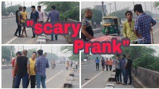 Scary prank with desi people's / Royals Baklol