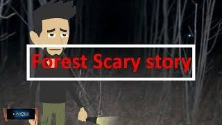 Scary Forest story (Animated in Hindi) |IamRocker|