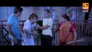 Rajpal Yadav Comedy Scene | Dagadabaichi Chaal | Marathi Movie