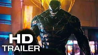 "VENOM - TV Spot ""Spider-Man Attacks"" NEW (2018) Tom Hardy, Michelle Williams Superhero Movie Concept"