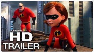 INCREDIBLES 2 Movie Clip Underminer Opening Fight Scene + Trailer (NEW 2018) Superhero Movie HD