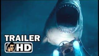 THE MEG Official International Trailer #3 (2018) Jason Statham Shark Horror Movie HD