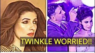 Twinkle Khanna Worried with Akshay Kumar Mouni Roy Dance?/Bollywood News