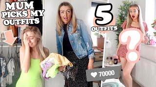 MUM CHOOSES MY OUTFITS FOR A WEEK and THIS is what happened...AD