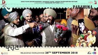 Celebration Of Anniversary On The Sets Of Parahuna - Punjabi Comedy Movie