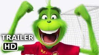 "THE GRINCH ""Soccer World Cup"" Trailer (NEW 2018) Animated Movie HD"