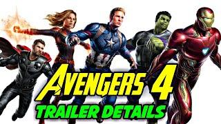 AVENGERS 4 TRAILER Details Explained In HINDI | AVENGERS 4 TRAILER Description Explained In HINDI