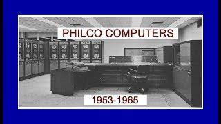 PHILCO Computer History - TRANSAC 2000 Transistor Mainframe (Electronics Radio) NORAD NASA