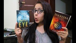 Reading Fantasy  & Thriller Books by Indian Authors | Reading Vlog Ep16