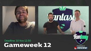 FanTV Fantasy S02: Gameweek 12