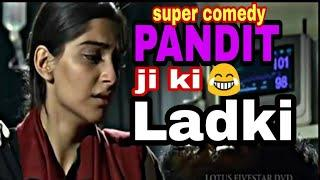 Raanjhanaa Movie comedy Dubbing - Vikram Bagri Vines | Pandit ji ki Ladki funny video |