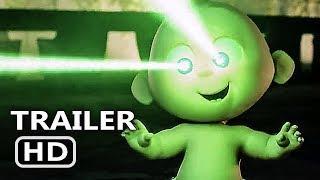 INCREDIBLES 2 Official Trailer # 4 (2018) Disney Pixar Movie HD