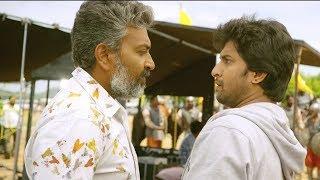 SS Rajamouli & Nani Comedy Scene | Nani Majnu Malayalam Movie Scenes | 2018 Scenes