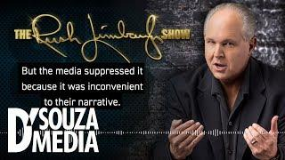 Rush Limbaugh with D'Souza on his new provocative new film and the fascism of the Democratic Party