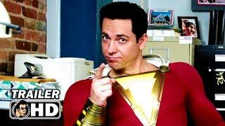 "SHAZAM ""Secret Lair"" TV Spot Trailer NEW (2019) Zachary Levi DC Superhero Movie HD"