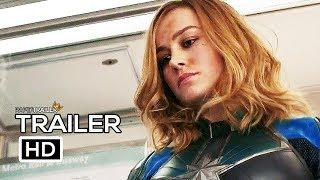 CAPTAIN MARVEL Official Trailer (2019) Brie Larson Marvel Superhero Movie HD