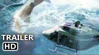 "THE MEG ""Megalodon Vs Helicopter"" Trailer (NEW 2018) Jason Statham Shark Movie HD"