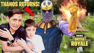 Thanos is Back For Revenge in Fortnite!! - Scary Kids Parody