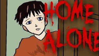 SCARY STORY || HOME ALONE [ANIMTED IN HINDI]