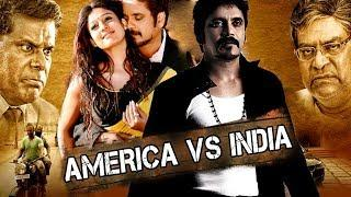 America Vs India (Greeku Veerudu) Hindi Dubbed Full Movie | Nagarjuna, Nayantara
