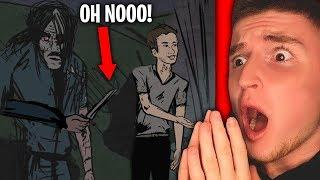 Reacting to TRUE SCARY ANIMATED STORIES.. (Don't Watch At Night)