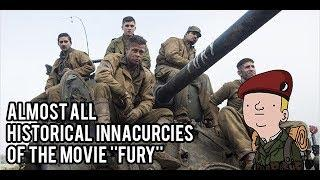 Almost all historical inaccuracies or the movie ''Fury''