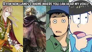 HEAR ME in Food Fantasy, Octopath Traveler, Dragon Pilot & Osomatsu!