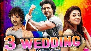 3 Wedding (2018) Telugu Hindi Dubbed Full Movie | Vishnu Manchu, Hansika Motwani, Manoj Manchu