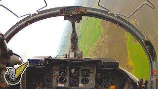 Low Level Jet Fighter Flight - Strikemaster