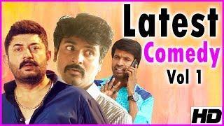 Latest Tamil Comedy | Vol 1 | Arvind Swamy | Sivakarthikeyan | Soori | Robo Shankar | Bala Saravanan